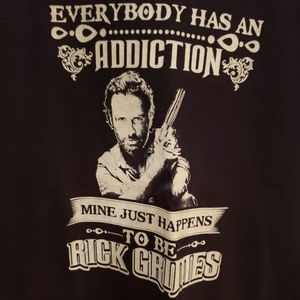 The Walking Dead Rick Grimes T-Shirt XL